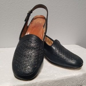 Ara Naturform Shoes Sandals Size 5 Navy Blue